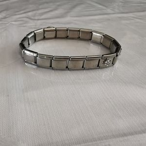 Sanrio Italian Link Bracelet With Five Charms